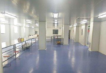 <b>2018年9月医疗器械净化工程装修完工</b>