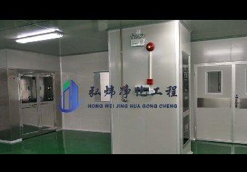 <b>塑胶厂无尘车间—广西三十万级净化工程装修</b>