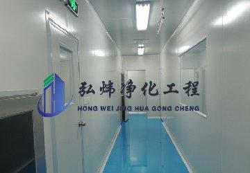 <b>东莞生物医药无尘车间装修—百级净化工程</b>