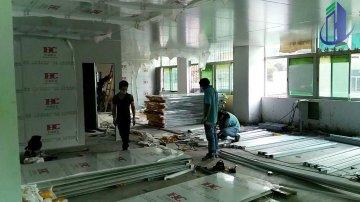湖南制药洁净室净化工程车间装修项目近况