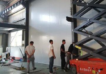 湖北食品塑胶包装车间净化工程项目进度跟进