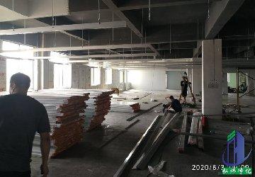 <b>电子厂净化车间工程装修进度-天花吊顶</b>
